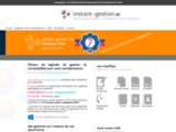 Instant-gestion éditeur de logiciel de gestion et comptabilité pour auto-entrepreneurs