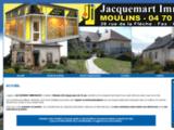 Jacquemart Immobilier. Michel Descloux agent immobilier à Moulins et l'Allier 0