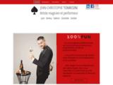 Jean-Christophe Tomassini, magicien professionnel