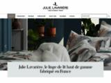 Linge de lit haut de gamme conçu et fabriqué en France