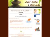 Just' Belle à Domicile - Esthéticienne à domicile - Douai - Just' Belle à Domicile