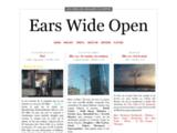 Ears Wide Open