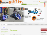 Kangour'Hop - Initiation, animation, vente et location des échasses urbaines poweriser