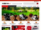 Vente d'outillage électroportatif et machines à bois - Keloutils.com