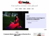 Keske J'mets - Crée de nouveaux looks pour booster votre garde-rob