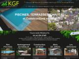 KGF fabricant piscine bois Avignon construction bois Le Thor Vaucluse 84
