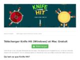 Knife Hit sur PC et Mac