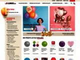 La Ballonnerie - La ballonnerie, vente en ligne de ballons, ballon latex, ballons personnalisés, ballons aluminium, ballon marseille