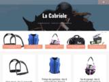 Sellerie et matériel d'équitation dans les Vosges - Sellerie La Cabriole