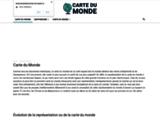 La carte du Monde interactive en ligne