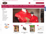La Chine au Trésor, bijoux en jade,  vêtements Chinois, peluches Panda