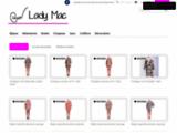 Vente de vêtements, piercing et bijoux de Lady mac