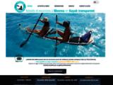 LAGOON EXPLORER| Activités à Moorea | Kayaks transparents