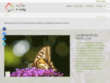 La Maison du Papillon - Elevages - Conseils - Vente en ligne chenilles et matér