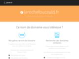 La Rochefoucauld, site de la ville de Charente