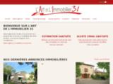 Immobilier Fonsorbes, vente maison Colomiers, vente maison La Salvetat Saint Gilles - Lartdelimmobilier31