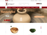 Vente en ligne de produits artisanaux tunisiens fouta cendrier tajine chéchia pas cher - Lartisanet
