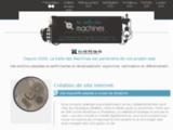 La Salle des Machines, création et optimisation de sites internet