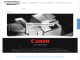 lasolution.fr : location photocopieur