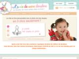 La vie de mon doudou : livres personnalisés pour enfant
