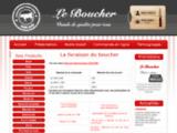 Viande en ligne - Livraison viande (boeuf, agneau, veau, porc).