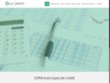 Informations sur le crédit ou prêt