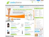 Leaderpharma: vente en ligne de produits pharmaceutiques sortant des plus grands laboratoires américains
