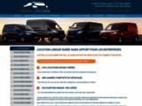 LLD véhicules utilitaire et Véhicules de sociétes - Devis LLD/LOA - Location avec option d'achat et crédit bail sans apport pour professionnels