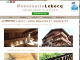 Menuiserie: Menuiserie Lebecq à Gresy-sur-Isère (73)