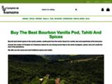 Gousse de Vanille de Madagascar, Epices et thés - Le Comptoir de Toamasina
