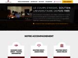 Stages et soutien pour l'université de droit d'Assas - Le Cours d'Assas