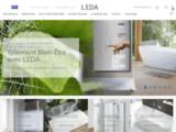 Leda, le spécialiste de l'espace douche : Cabines de douche