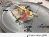 Restaurant Ambérieux d'Azergues, le jardin gourmand