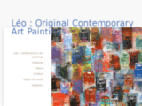 Léo - Peintures Originales d'Art Contemporain