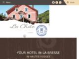 Hôtel restaurant bar à La Bresse dans les Vosges : les Chatelminés, hôtel Alsace Lorraine
