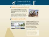 Locations sur île de Ré : passez vos vacances sur l'ile de Ré, dans nos locations de vacances : LesClosdeLiledeRe.com