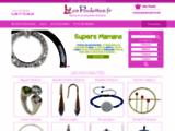 Bijoux Fantaisie en  Ligne Les Poulettes.fr : créateurs bijoux