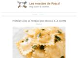 Les recettes de Pascal, recettes de cuisine, lesrecettesdepascal