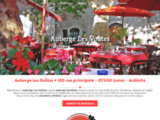 Hôtel en Ardèche - Auberge Les Voûtes hôtel restaurant à Lanas en Ardèche