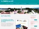 Bienvenue sur le site officiel du Temple sur Lot