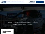 Voitures sans permis Ligier, Garage Dusaucy près de Chimay dans l'Hainaut