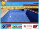 PVC armé, liner et membrane de piscines