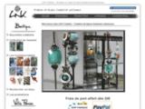 LNK, Création de bijoux fantaisies artisanaux à Rouen - Boucles d'oreilles, colliers, bracelets, bagues, broches