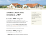 Location LMNP : bien investir en LMNP - Location LMNP