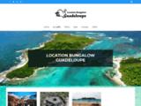 Location Guadeloupe - FLEURS DE ROUCOU : Location de bungalow à Deshaies en Guadeloupe