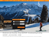 Location Skis & Snowboard : Magasin Skiperf aux Houches