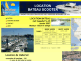 Location bateau et scooter des mers en Vendée 85