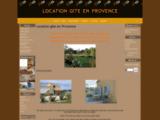 Location gîte en provence