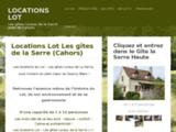 Locations Lot, les gîtes de la serre près de Cahors (Lot)