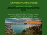 LOCATIONS APPARTEMENT A CALPE EN ESPAGNE